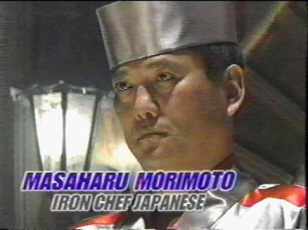 That's an excellent use of paprika, Morimoto-san, but how are you with guitar solos?