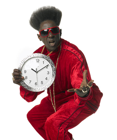 I got a clock mothafucka!